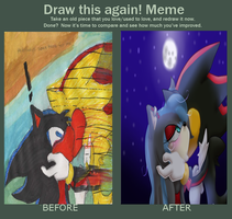Meme  Before And After by inuyashalover24680