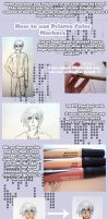 Prisma or Copic Tutorial by killa-cam