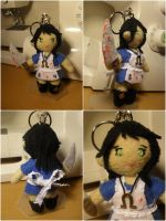 Alice keychain remake by m-sharlotte