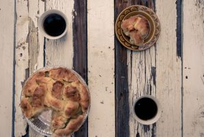 Pie and Coffee by DFausto