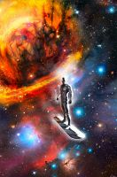 The Silver Surfer-Regret by carstenbiernat