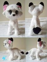Kimba the White Lion Plush by dollphinwing