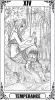 KH Tarot: Temperance by Autumn-Sacura