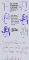 How to draw hands- Como dibujar manos 1 by AnnaKsketch