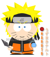 Naruto's Goin' to South Park by Dosu
