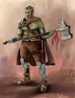 Orc Character by Rodriguezzz