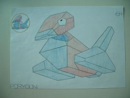 Porygon by charlenequek