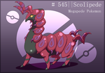 Day 1 Scolipede by Runa-Feitr