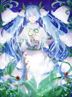 snow miku by Haoni2062