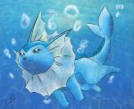 Vaporeon by Shadowfoxmoon