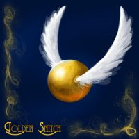 Golden Snitch Dock Icon by SovaeArt