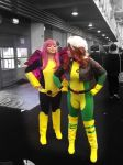 Pixie and Rogue by Lightninglouise