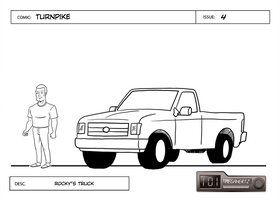 Turnpike - Rocky's Truck by cmbarnes