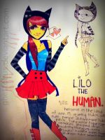 lilo the human. by Ghettobus