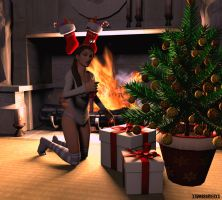 Christmas Night by XTombRaiderxx