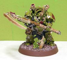 40K Chaos Nurgle Typhus by LadyTygress