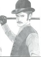 Game of shadows - Watson by DrawIfAffinity