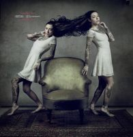 Tales of the green armchair - V:The twins by Grooveinjector