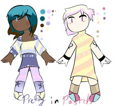 Pay What You Want| Adoptable Set | CLOSED by CryoPyxel