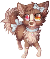 Chibi berry by LiaBorderCollie