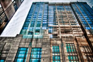 Reflection of Chicago by Shane-Morelock