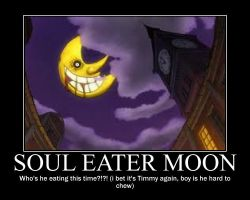 Soul Eater Moon Motiv Poster by Zion500