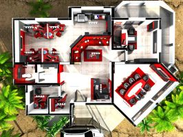 OSD - Office Plan by dizzy-miro