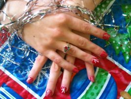 Christmas Nails by MissDaniLips