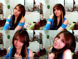 Rinoa - Outfit Tryout by riotfaerie