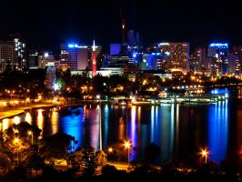 Perth by night by LouisStone