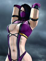 Mileena the Sexy Tarkatan by LordHayabusa357