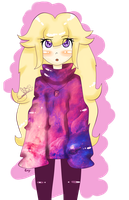 .:peach galaxy:. by EsySunFury