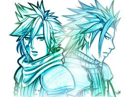 FF7CC: I never forget you.. by DarkLitria