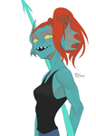 Undyne by Meammy