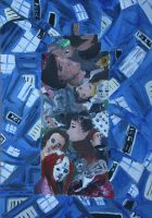 The Tardis Inside - Acrylic paints by lizzie9009