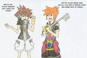 WEWY meets KH by PandaSam