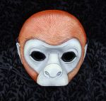 Monkey Mask by merimask