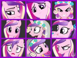 Princess Cadence Icons by AndreaSemiramis