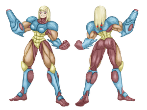 Metroid: Fusion Suit Samus by Node-Gamer