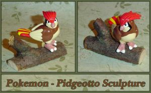 Pokemon - Pidgeotto Sculpture