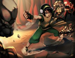 Toph by Roguetwo