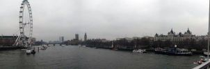 London panorama by Hanatsumi