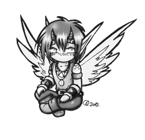 Chibi Kasta with Wings by Yula568