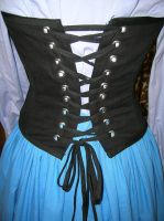 Ariel Day Dress Corset Back by AllenGale