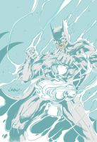 Batman as White Lantern by jmascia