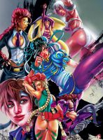 The Ladies of Street Fighter by WiL-Woods
