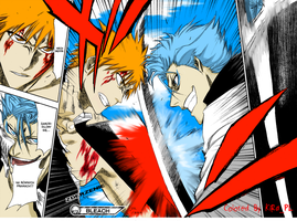 Bleach:Ichigo Vs Grimmjow by KiRaPL
