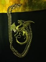 Dragon Necklace by Elitemonkeys