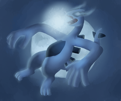 Lugia Used Aeroblast by Blubble-The-Blubs