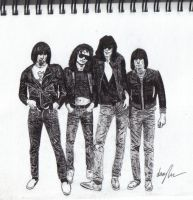 the ramones by Jarryn